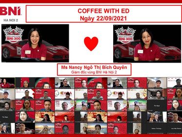 Coffee with ED - Ngày 22/09/2021