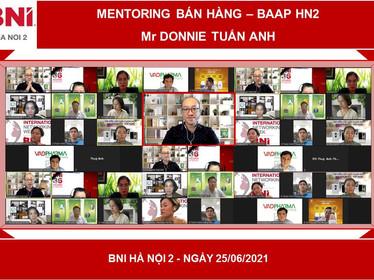 Chương trình Mentoring của Hội đồng hỗ trợ thúc đẩy kinh doanh BAAP - BNI HN2