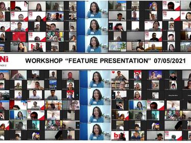 Chương trình workshop Feature Presentation - BNI Hà Nội 2.