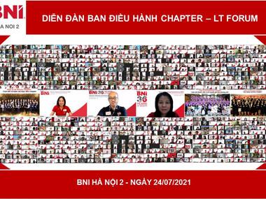 Leader Team Forum BNI Hà Nội 2 - 24.07.2021