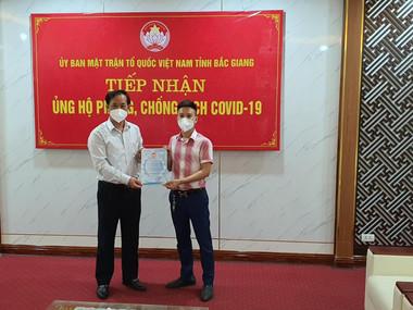 Chương trình từ thiện ủng hộ đồng bào Bắc Giang - BNI HN2 ngày 25.05.2021.