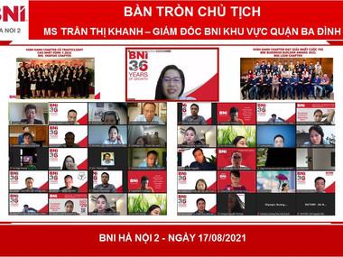 """Chương trình """"Bàn tròn Chủ tịch"""" - BNI Hà Nội 2"""