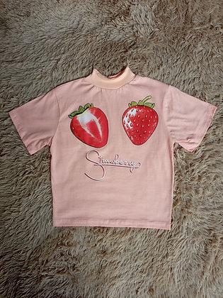 Camiseta Rosa Morango - Linha Like