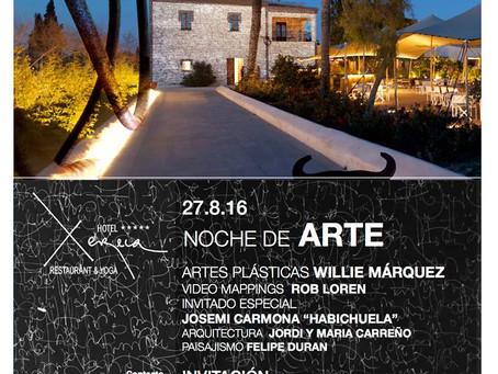 Noche de Arte en Hotel Xereca 2016