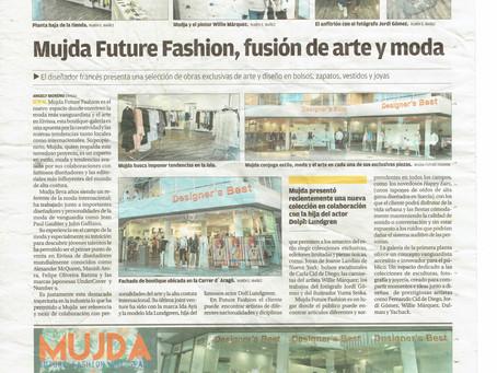 Mujda Future Fashion fusion de arte y moda
