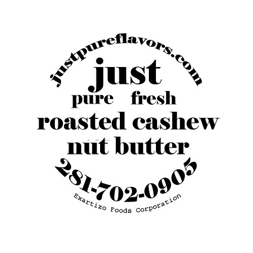 Roasted Salted Cashew Nut Butter - 4oz