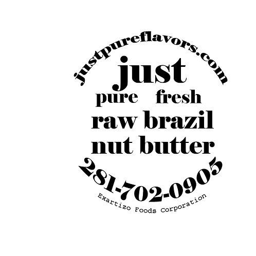 Raw Brazil Nut Butter - 4oz