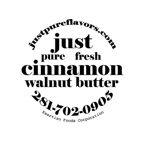 Cinnamon Honey Walnut Butter - 4oz