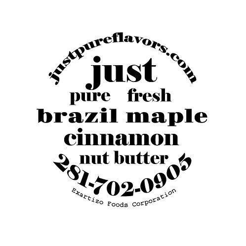 Cinnamon Maple Brazil Nut Butter - 4oz