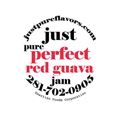 Perfect Red Guava Jam - 8oz