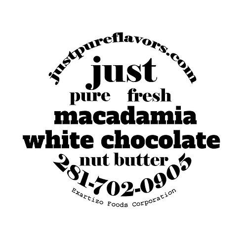Macadamia White Chocolate Nut Butter - 4 oz