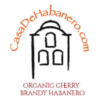 Organic Cherry Brandy Habanero - 4oz