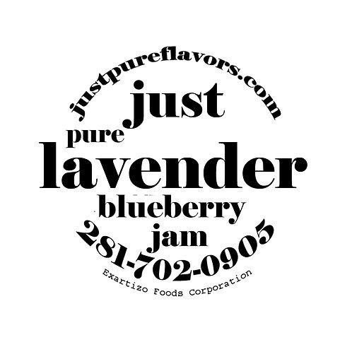 Lavender Blueberry Jam - 8oz