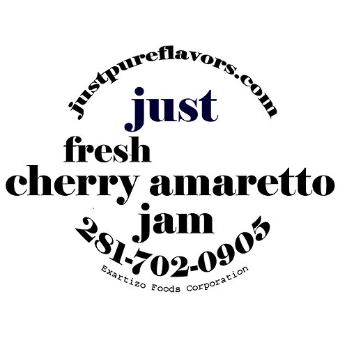 Cherry Amaretto Jam - 8oz