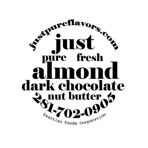 Dark Chocolate Organic Almond Nut Butter -4 oz