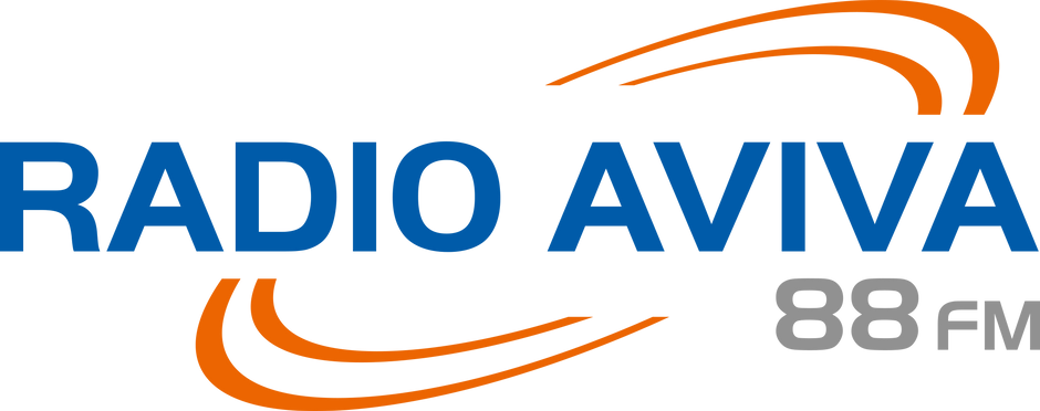 RADIO AVIVA - LOGO RECTANGLE Couleurs sa