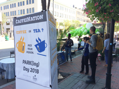 Park(ing) Day, Caffeinated