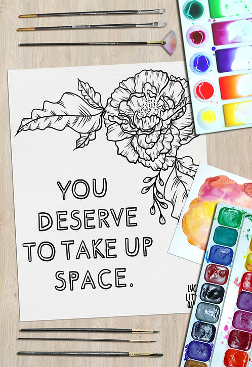Print-at-Home Colouring Pack