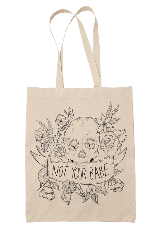 Not Your Babe Tote Bag