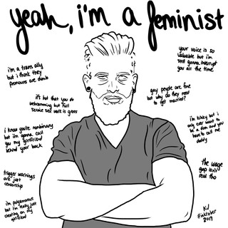 Lucky Little Queer LGBTQ freelance artist Inktober illustration
