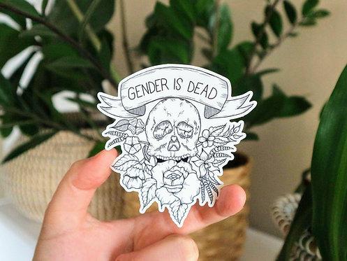 Gender is Dead Sticker