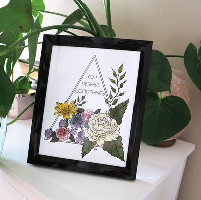 Lucky Little Queer Large Art Prints