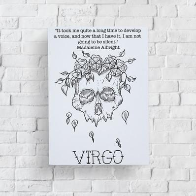 Lucky Little Queer Astrology Zodiac Feminist Art Prints