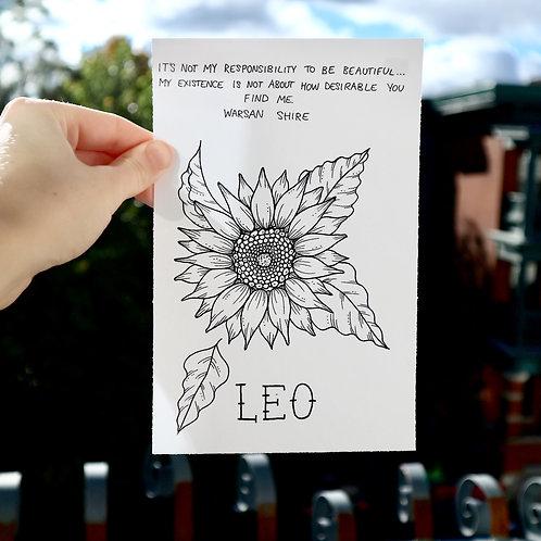 Leo Print
