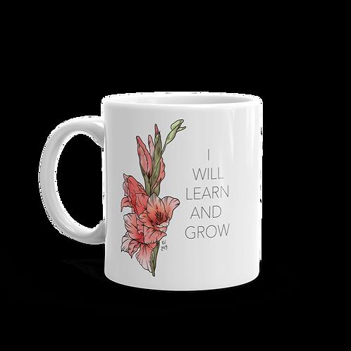 I Will Learn and Grow Mug