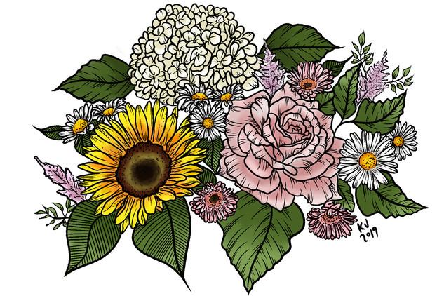 Alta Vista Flowers Masterpiece Project Piece