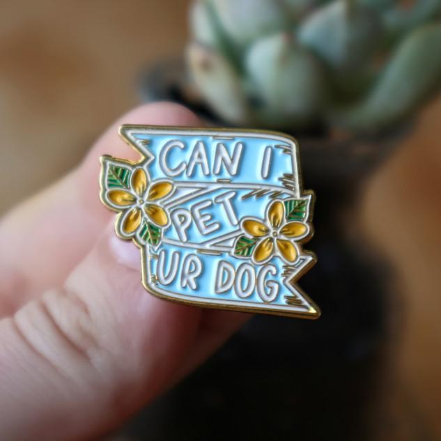 Lucky Little Queer Enamel Pin Buttons