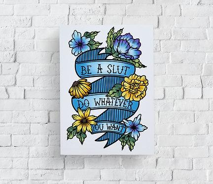 Slut Pride Print