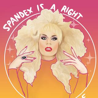 Katya Fan Art, Lucky Little Queer, LGBTQ Drag Race queen art