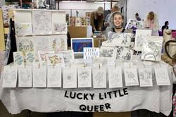 Lucky Little Queer LGBTQ freelance a