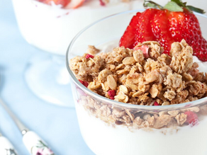 HEALTHY SNACKS TO GET YOU THROUGH THE DAY