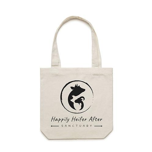 Happily Heifer After Tote Bag