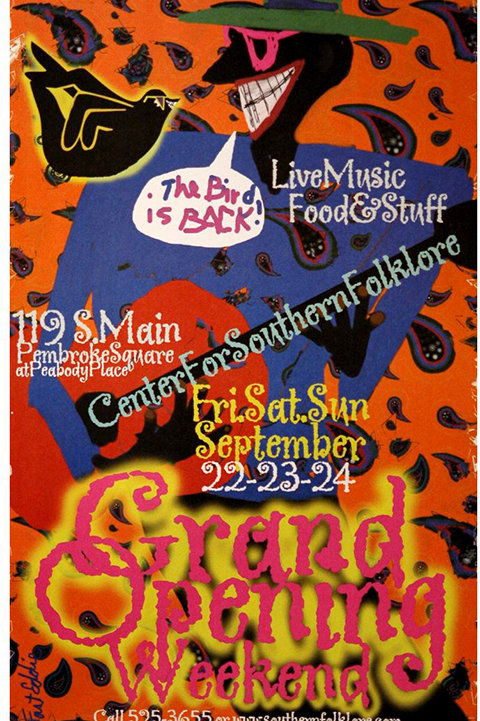 2000 Memphis Music and Heritage Festival Poster