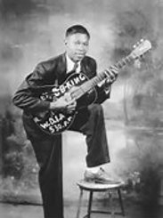 Young BB King - 8x10 Matted Print