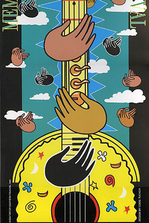 1992 Memphis Music and Heritage Festival Poster