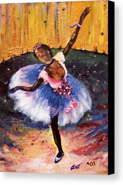 Ballerinas Girl  8 x 10 Print by Art Covington