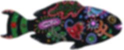 16X19 Puffer Fish $95.00.jpg
