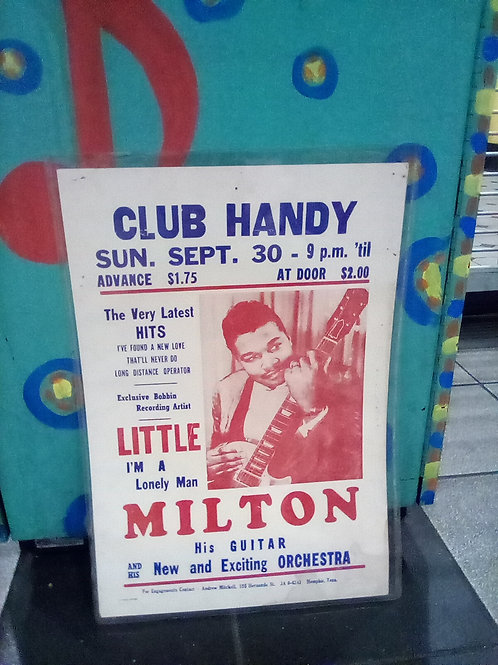 Club Handy/Little Milton 15x21 poster