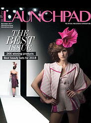 Beauty Launchpad Magazine COVER Dec 2017