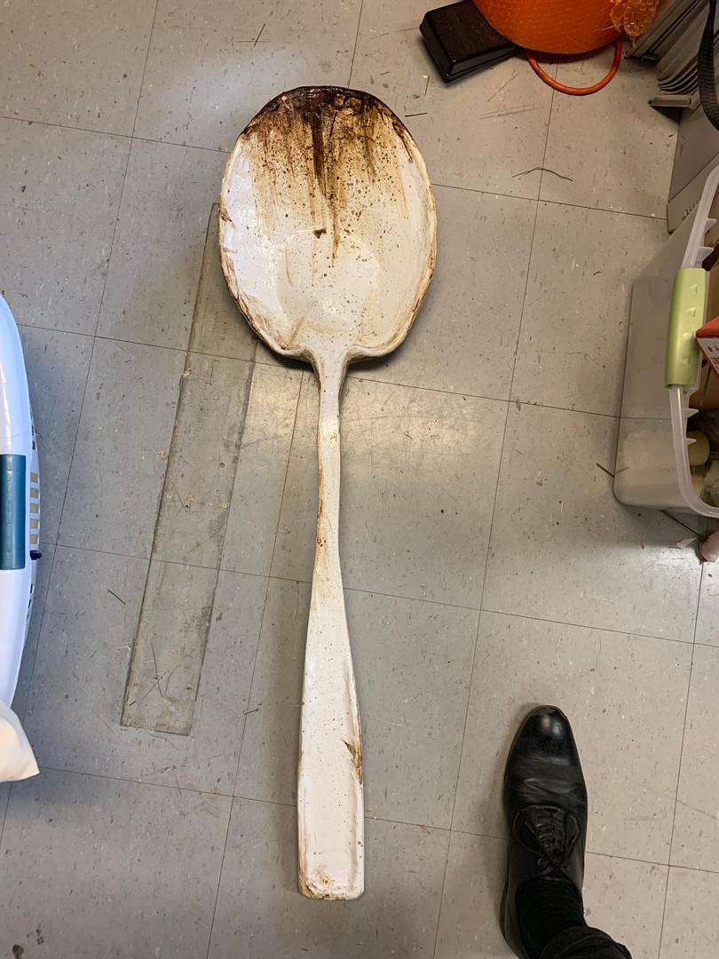 Giant Plastic Spoon