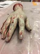 Black Stache's Hand