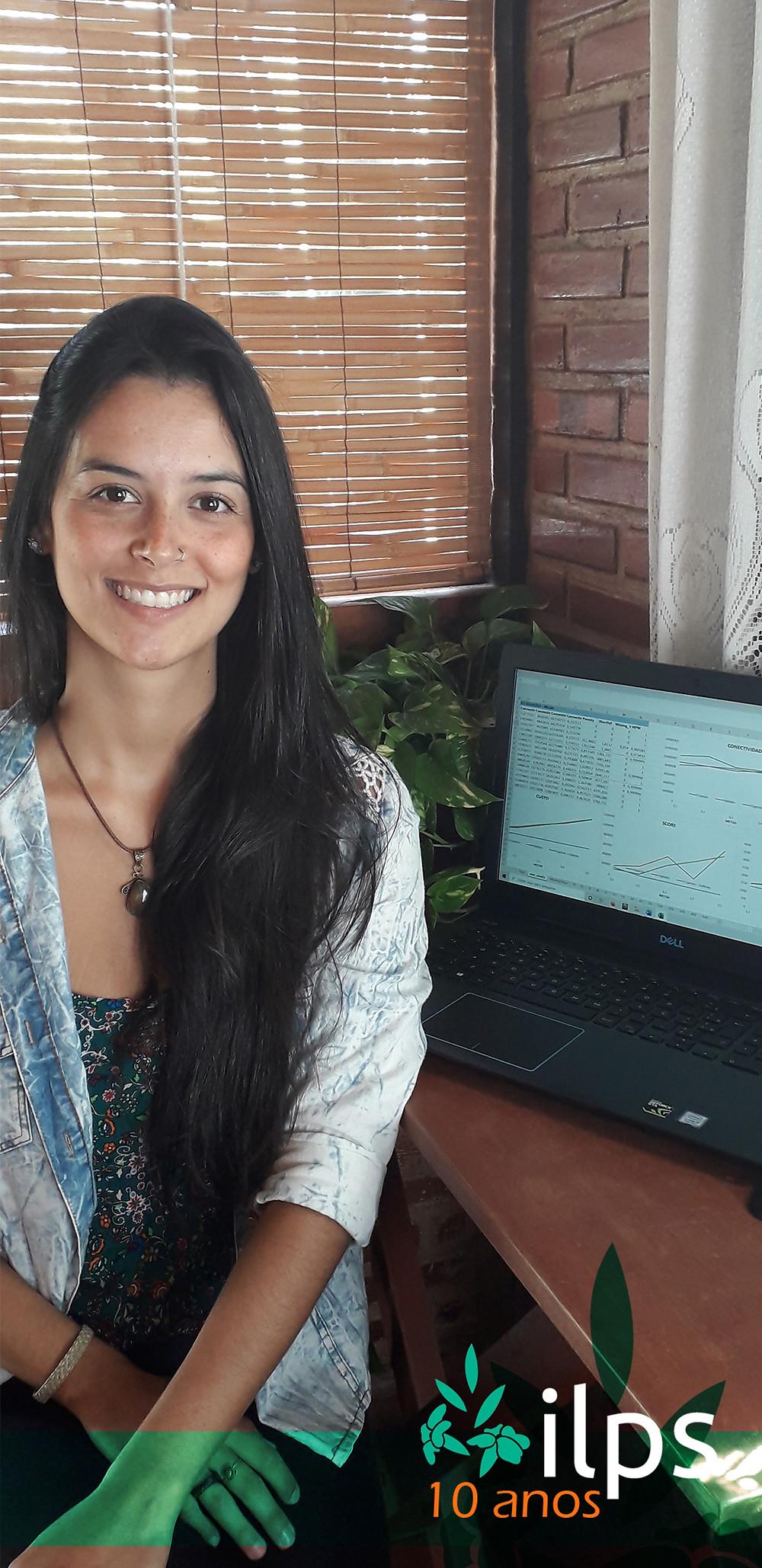 Vencedora do Programa Jovens Talentos para a Conservação 2019