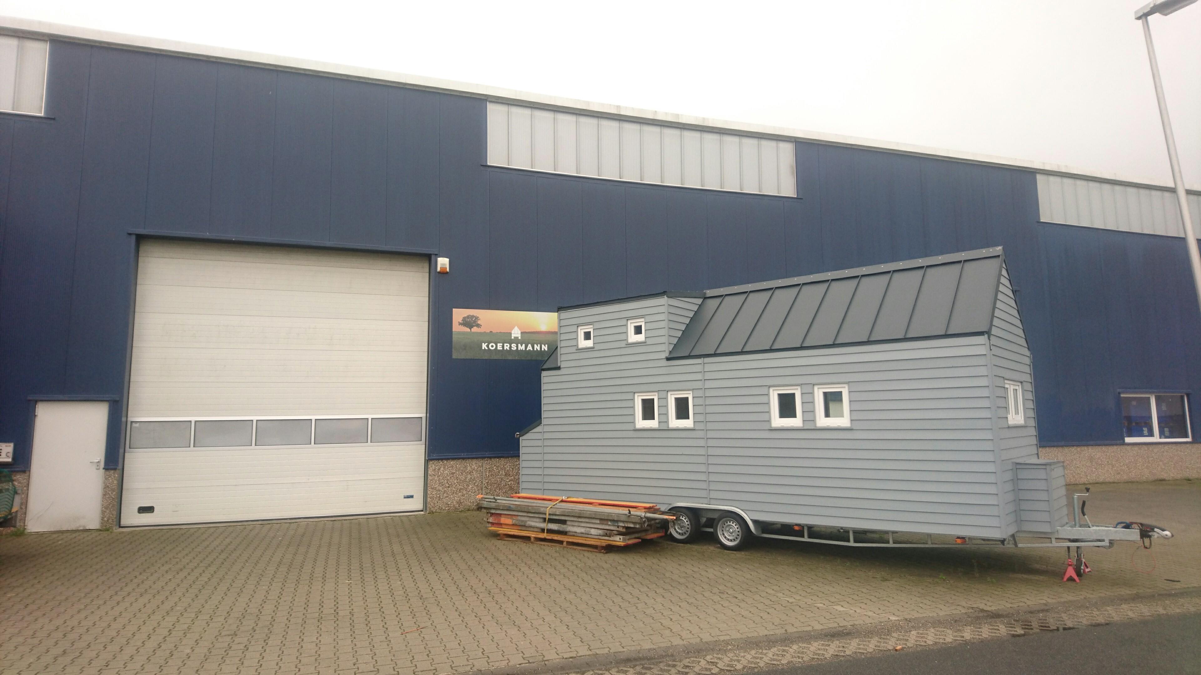 Unsere Halle mit Ausstellungsmodell