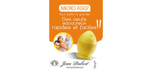 Cuiseur à œufs micro-ondes Jean Dubost