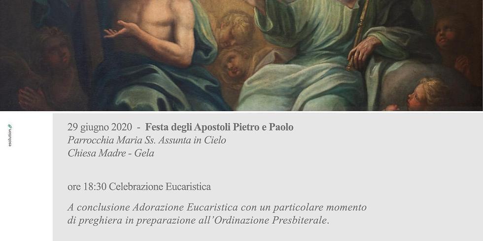 Veglia in preparazione all'Ordinazione Presbiterale di don Carmelo Salinitro