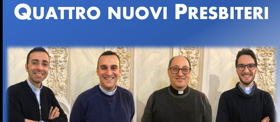 Prossime ordinazioni presbiterali